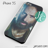 Rick grimes was police officer Phone case for iPhone 4/4s/5/5c/5s/6/6 plus