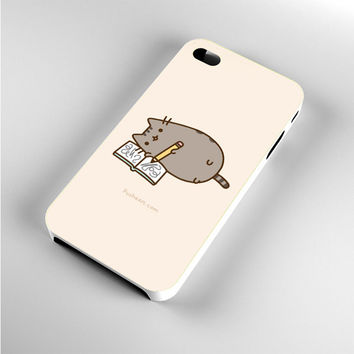 i'm Pusheen The Cat Writting iPhone 4s Case