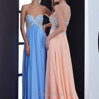 Strapless Sweetheart Neckline Formal Prom Dress By Jasz Red 5417