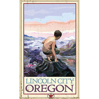 Personalized Lincoln City Oregon Wood Sign
