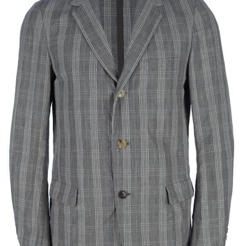 08Sircus Unstructured Check Blazer