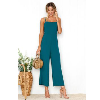 Jackie  Beach Jumpsuit