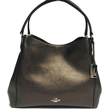 COACH Women's Refined Pebble Leather Edie 31 Shoulder Bag