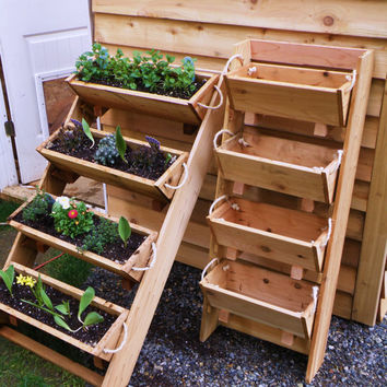 "Get 2 16"" large planters raised bed vegetable garden for herb, tomato, flower, and strawberry gardening - free shipping"