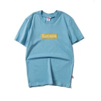 Light Blue Supreme Tee