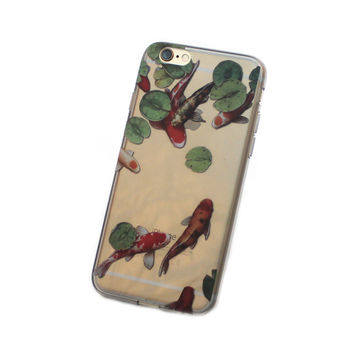 iPhone Koi Pond Case