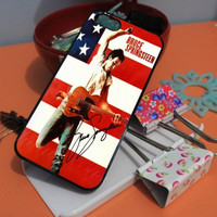 BRUCE SPRINGSTEEN AMERICAN FLAG iPhone Case And Samsung Galaxy Case