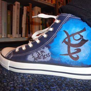 The Mortal Instruments Converse Style Shoes