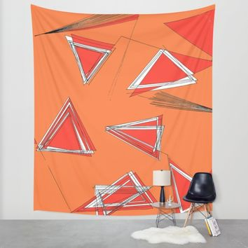 UNdone Wall Tapestry by Ducky B