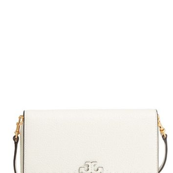 Tory Burch McGraw Leather Crossbody Wallet | Nordstrom