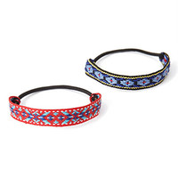 Southwestern Patterned Hair Tie Set