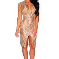 New Style Summer Dress Women Sexy Club Dress Party Night Club Dress Vestido Robe Femme Party Black Gold Sequin Dress