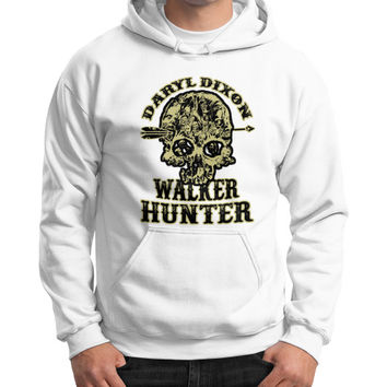 Daryl dixon walker hunter Gildan Hoodie (on man)
