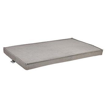 MicroVelvet Cool Gel Memory Foam Mattress Crate Pad — Shadow
