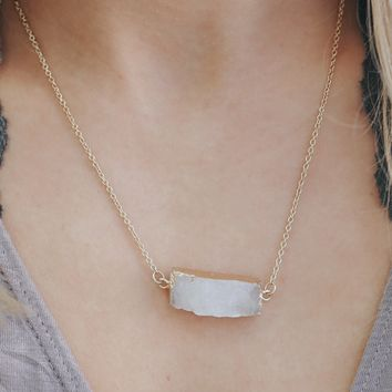 Counting Stars Necklace - Off White