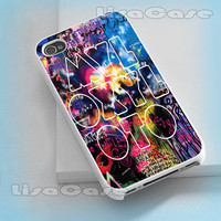 Mylo Xyloto Coldplay, iPhone case, iPhone 4/4S case, iPhone 5 Case, Samsung GAlaxy S3/S4 Case, Photo prind hard Plastic