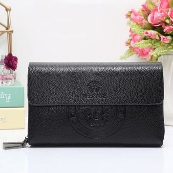 ONETOW Versace Women Fashion Leather Wallet Purse