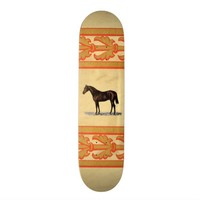 Brown Horse Skateboard
