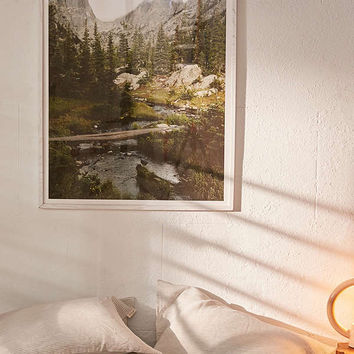 Kevin Russ Dream Lake Creek Art Print | Urban Outfitters
