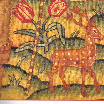 Animals From The Early Samplers Marsha Van Valin Historical Patterns For Counted Thread Embroidery Sampler Motif Needlework Designs Rare OOP