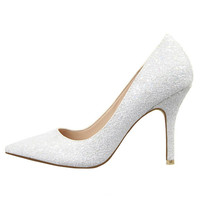 Women Shoes High Heel Women Pumps Sexy Glitter High Heels Shoes Woman Pointed Toe Sexy Ladies Stiletto Shoes Evening Party Alternative Measures