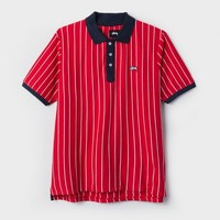 Striped Tennis Polo