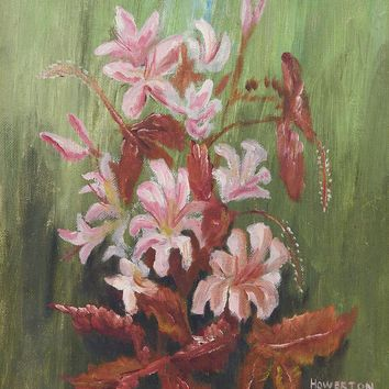 Impressionist Floral Painting by Howerton