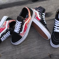 "Supreme x Vans Andres Serrano ""Blood & Semen"" Running Shoes 35-44"