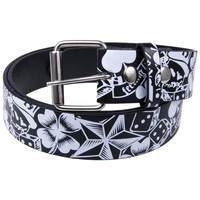 Feeling Lucky Leather Belt