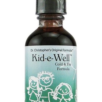 Christopher's Original Formulas Kid-e-Well Cold & Flu Formula 2 fl oz
