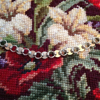 Vintage Silver Tone Sarah Coventry Young and Gay Bracelet 1950s