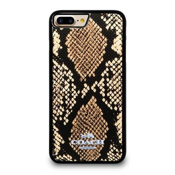 COACH NEW YORK SIGNATURE CITY iPhone 4/4S 5/5S/SE 5C 6/6S 7 8 Plus X Case