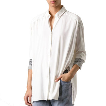 Acne Studios Linger Ribbon White Shirt
