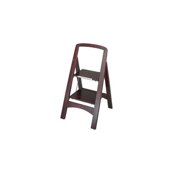 Cosco Home and Office Rockford 2-Step Wood Step Stool with 225 lb. Load Capacity