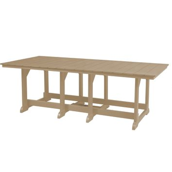 Wildridge Heritage Outdoor Dining Table 44x94  - Ships in 10-14 Business Days