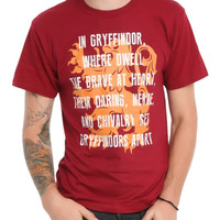 Harry Potter Gryffindor Sorting T-Shirt