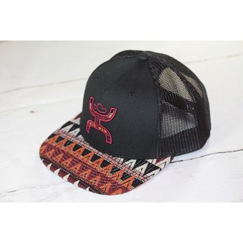 "HOOey ""Pyramid"" OSFA (snapback) 1637T-MAOR NEW FOR 2017"