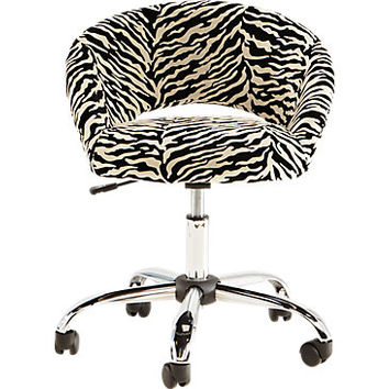Healy Zebra Desk Chair