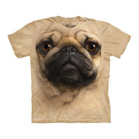 The Mountain: The Mountain Pug Tee, at 15% off!