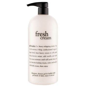 philosophy super-size fresh cream shower gel 32 oz — QVC.com