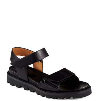 Marc By Marc Jacobs Open Toe Leather Sandals