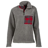 NEW Natural Reflections 1/4-Zip Sherpa Pullover for Ladies