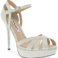 Nina Sunny Platform Evening Sandals | macys.com