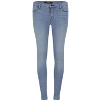 J BRAND WOMEN'S MID RISE PHOTO READY SUPER SKINNY JEANS - TREASURE