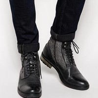 ASOS | ASOS Workboots in Leather at ASOS