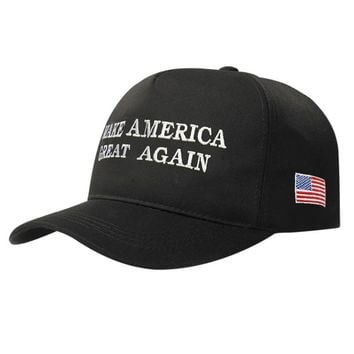 2018 Make America Great Again Letter Print Donald Trump Hat 2017 Republican Snapback Baseball Cap Polo Hat For President Hat