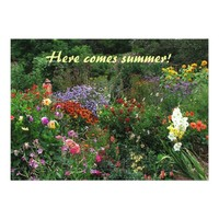 Summer Solstice Garden Party 5x7 Paper Invitation Card