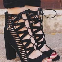 Headliner Heels - Black