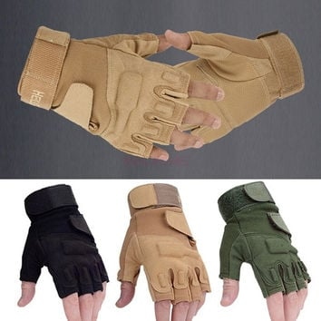 Outdoor Sports Motorcycle Cycling Tactical Gloves Army Full Finger Airsoft Combat Tactical Gloves SV001927 Apparel & Accessories = 1645859268