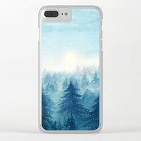 Into The Forest VIII Clear iPhone Case by Marco Gonzalez